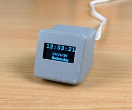 Network Time Digital Clock Using the ESP8266