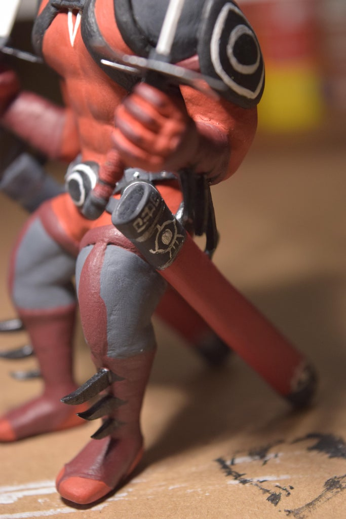 Painting (Sword Scabbard Details)
