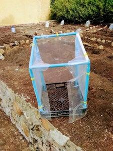 Cerrar El Invernadero Con Plástico Transparente