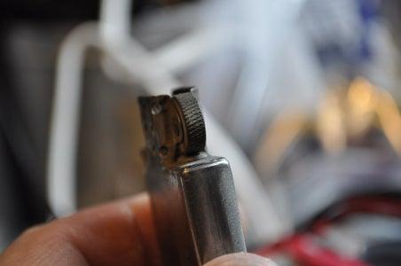 Clean Your Striker Wheel and Re-flint