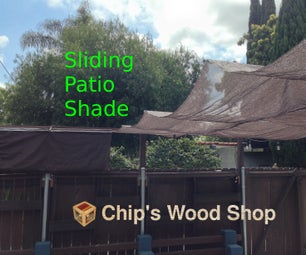 Sliding Patio Shade