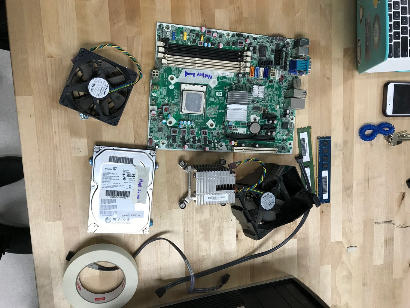 Install the Optical Drive