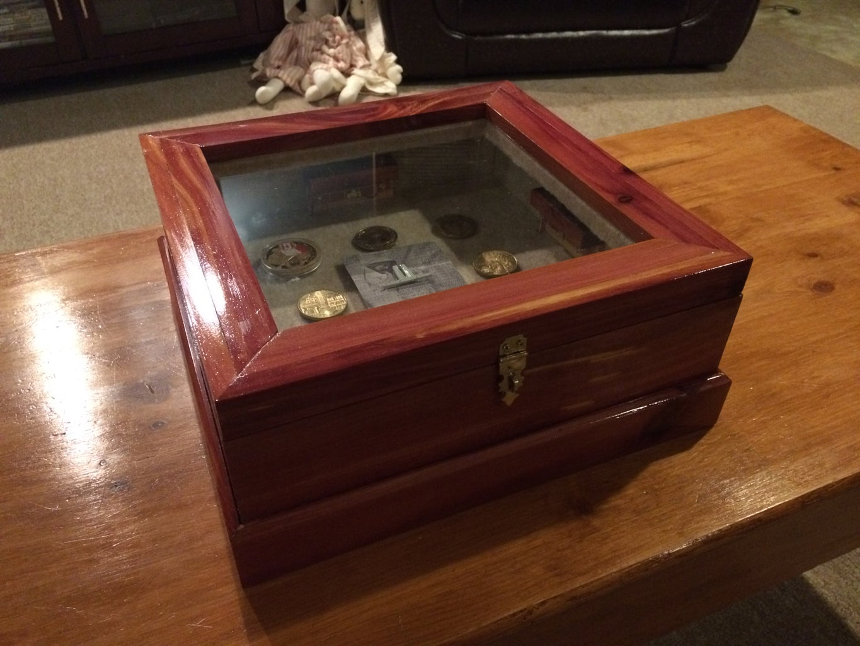 Lighted Curio Box