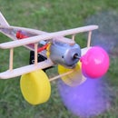 Plane with DC motor