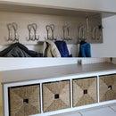 IKEA Style Coat Rack and Shoe Cabinet