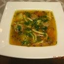Romanian meatball soup - Ciorba de perisoare