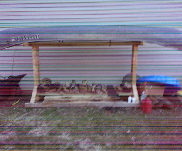 Canoe Wood Stand