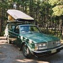 Roof top car camper