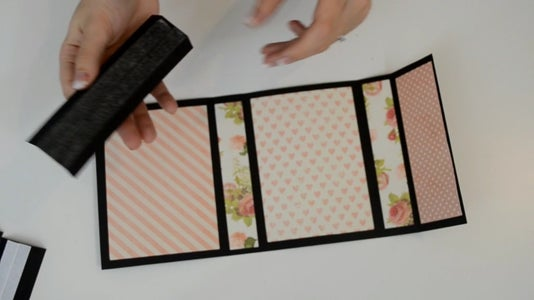Making the Album Pages: Scoring and Sticking