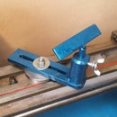 Woodworking Toolrest for the Mini Lathe From Scrap