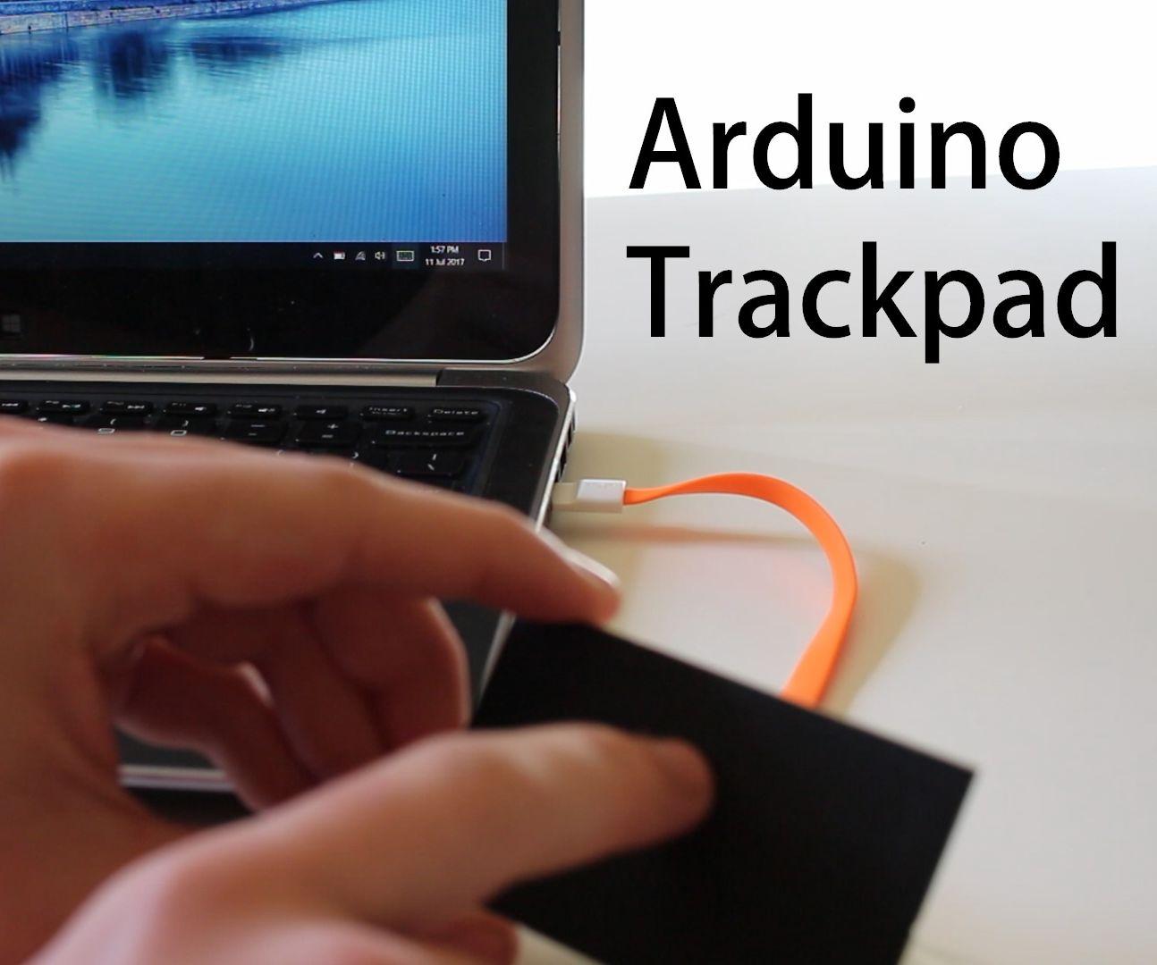 Arduino Controlled USB Trackpad