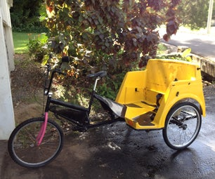 1 Inch Axle Upgrades for Pedicabs Using Go-kart Parts