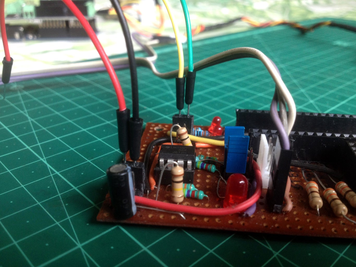 Connect the Amplifier Board to the Arduino Board