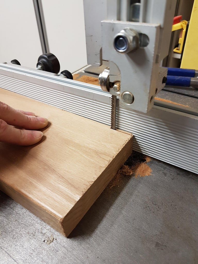 Making the Wood Strips