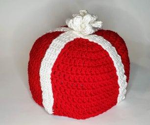 Crochet Gift Box Hat