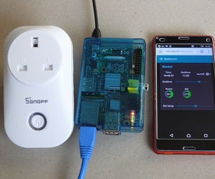 Powerful Standalone Home Automation System - Pi, Sonoff, ESP8266 and Node-Red