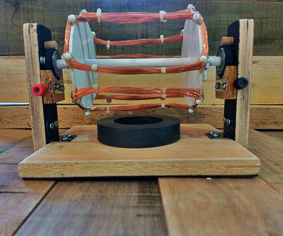 Make an electric motor