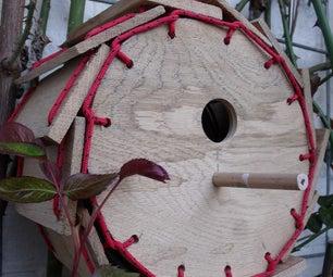 Paddlewheel paracord birdhouse