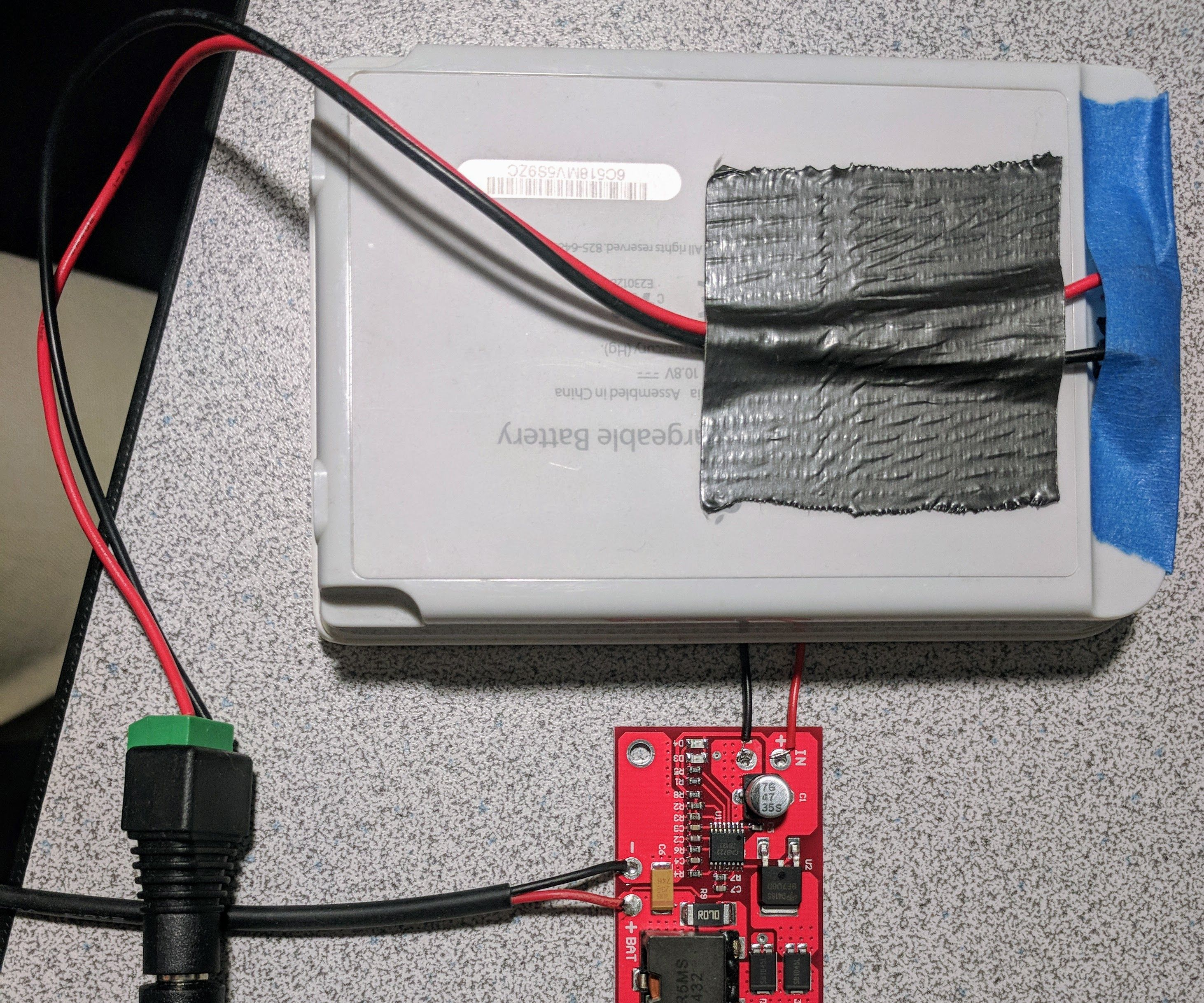 Adding a MPPT Solar Charger to the Battery Pack