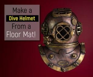 Recreating an Antique Divers Helmet From Foam