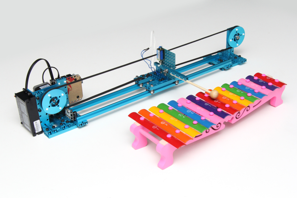 How to Make a Makeblock Music Robot with the Music Robot Kit(NEW)