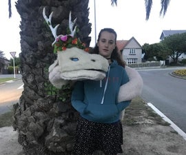 Amazing Soft Giant Dragon Shoulder Puppet!