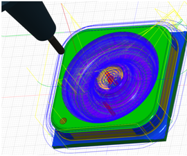 [computational Fabrication] Specifying CAM Toolpaths for a Ring Box in Fusion360