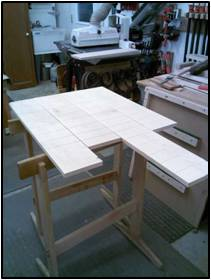Stock Prep for the Drawer Fronts, Sides & Backs (continued)