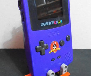 Simple K'NEX Gameboy Stand