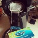 Make tea with a Philips Senseo