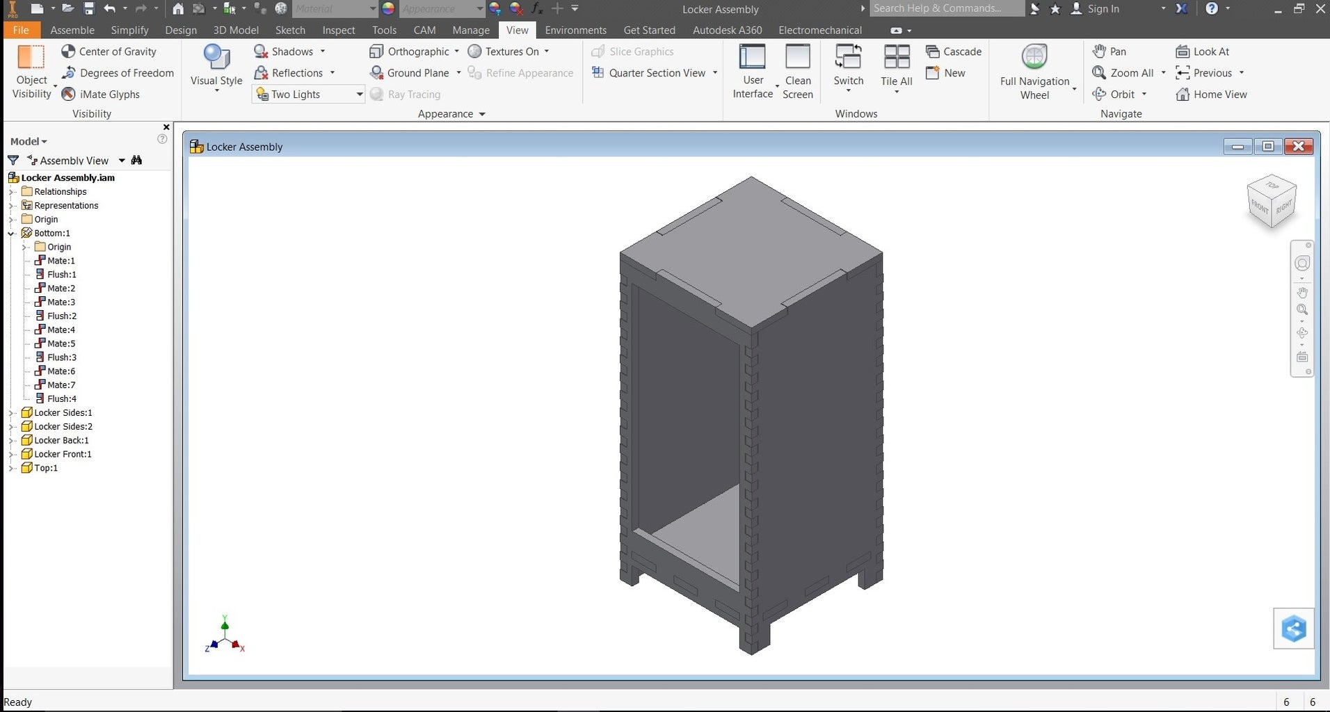 Create Model in CAD Software