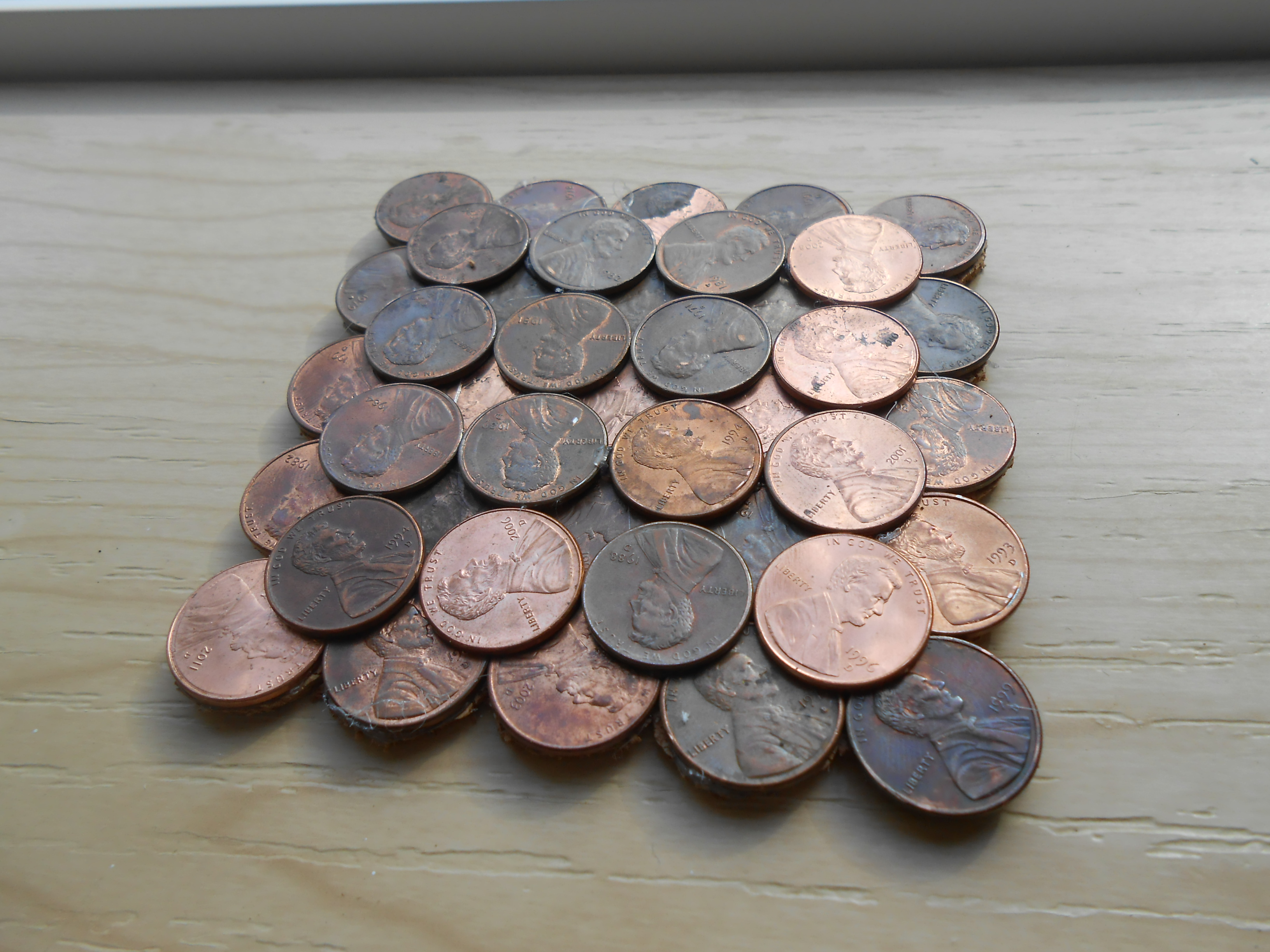 How To Make Penny Coasters!