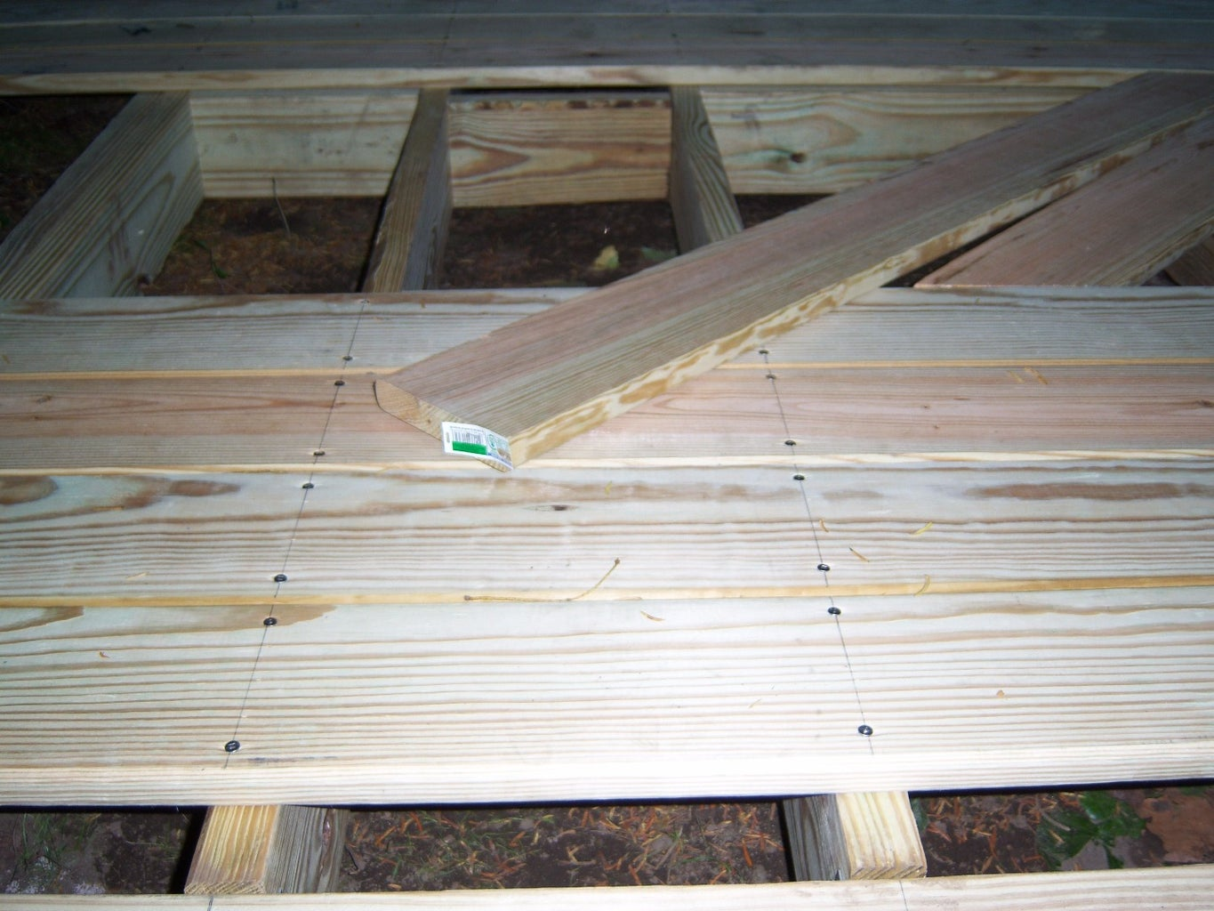 Install Floorboards and Joists