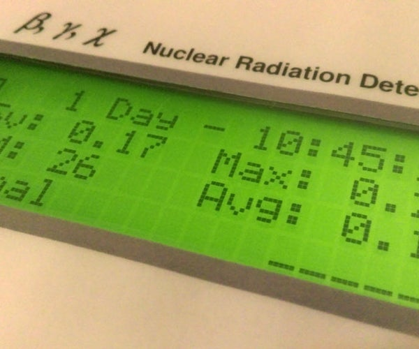 Radioactivity Counter (IoT) and Monitoring Eco-system