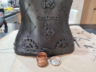 Adding the Metallic Wax Paste