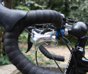 Fastening a Bike Horn With Sugru