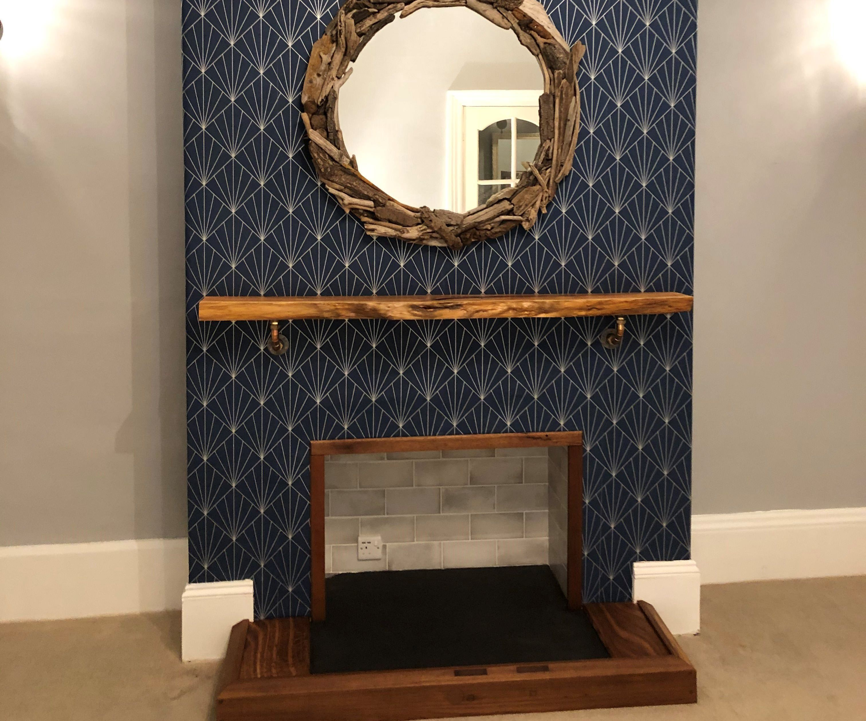 Fireplace Remove & Rebuild