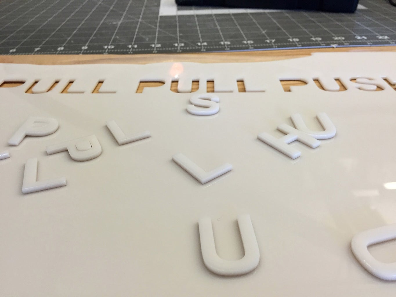 Attempt #1 - Laser Cutting and 3D Print With Fortus 450