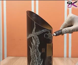 The Starry Night - DIY Clock Using PVC