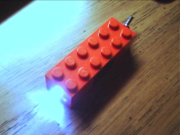 Lego LED Flashlight