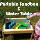 Easy Portable Sandbox and Water Table
