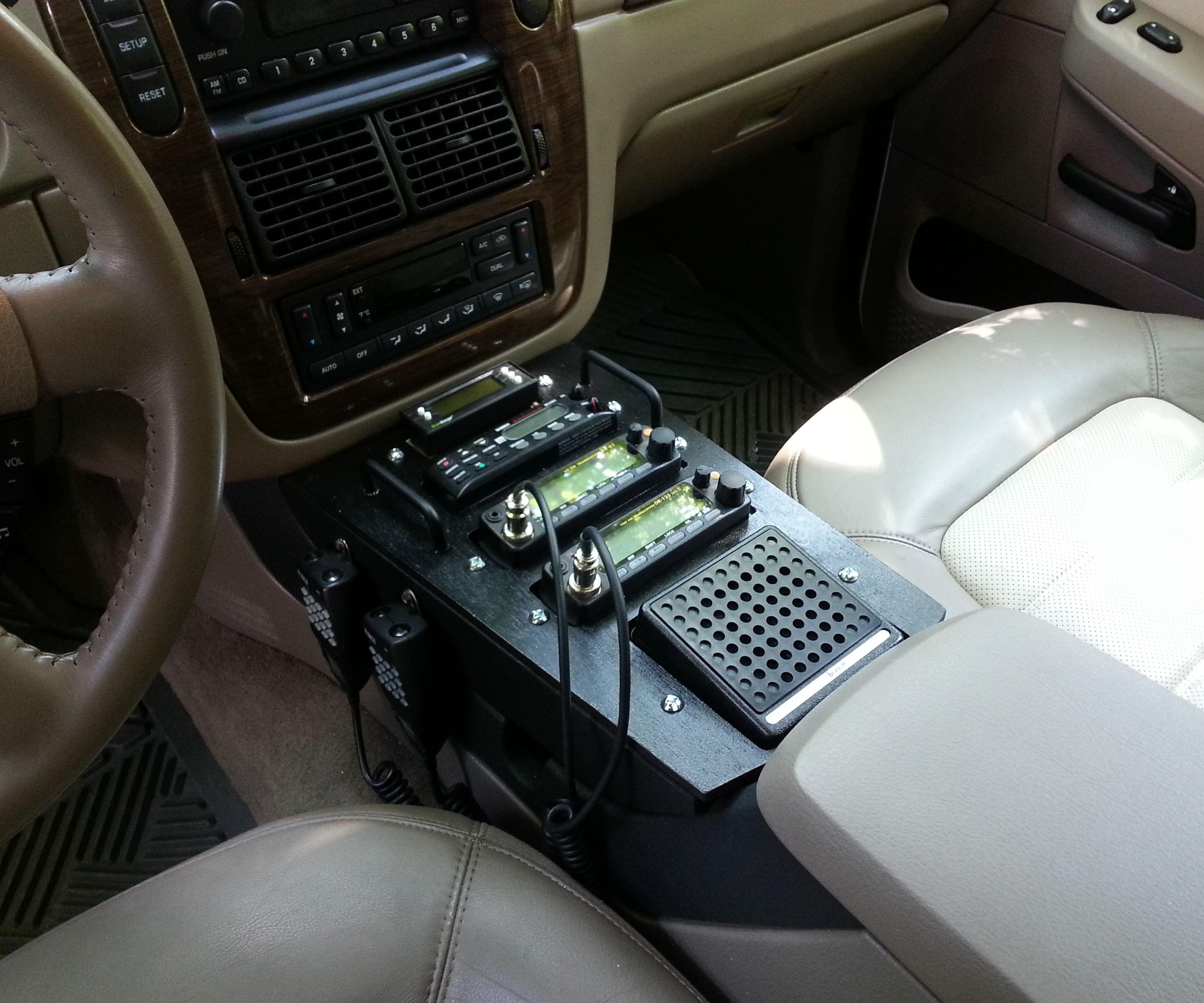 Ford Explorer Ham Radio/Scanner Installation