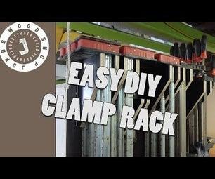 Easy DIY Clamp Rack