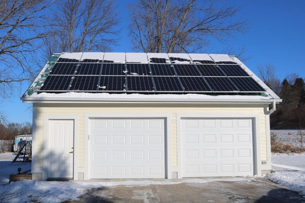 Diy Solar Garage 14 Steps With, Garage Solar Power