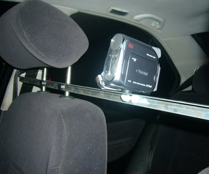 Head Rest Camera Mount