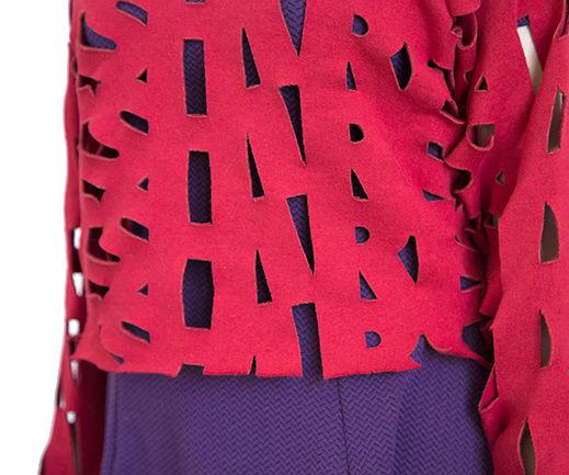 DIY Laser Cut Sweatshirt