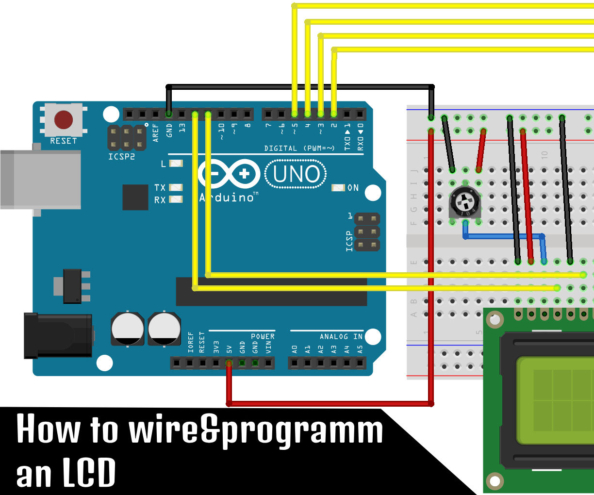 How to Use an LCD With an Arduino