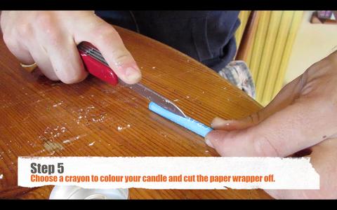 Prepare Your Crayon