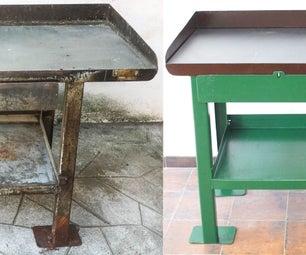 Metal Workbench Restoration
