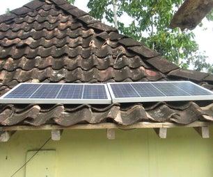 Simple DIY 100 Wp Solar Home System